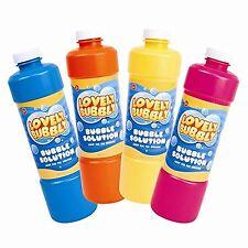 LIQUIDO bolle ricarica Bottiglia - 1 2 Litro di Soluzione per bolle di giocattoli per bambini
