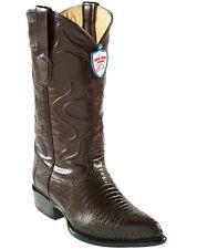 Wild West Brown Genuine Teju Lizard Western Cowboy Boot J-TOE