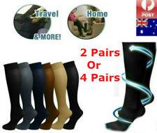 2Pair/4Pair Compression Miracle Socks Aching Feet Varicose Veins Travel Flight