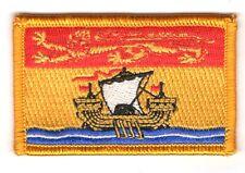 Ecusson Brodé PATCH drapeau Nouveau-Brunswick  CANADA FLAG PATCH EMBROIDERED