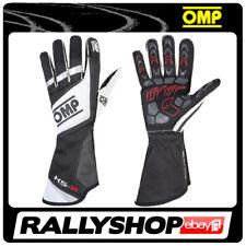 OMP KS-1R Karthandschuh ks 1r Handschuhe Professionell  Motorsport Schwarz