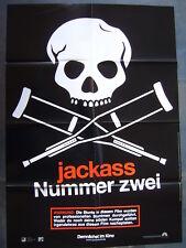JACKASS NUMMER ZWEI - Johnny Knoxville, Bam Margera - Filmplakat A1 - KULT