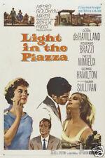 Light in the Piazza Olivia de Havilland movie poster