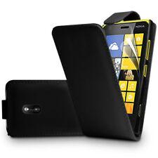 Kunstleder Handy Schutzhülle mit Klappe für Nokia Asha 503/ 503 Dual SIM