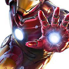 EL Iron Man Body Set = EL Panel Arc Reactor + Hand Repulsors To Add To Costume