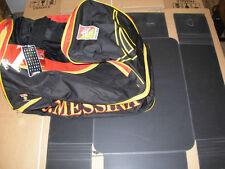 borsa borsone messina nuovo no maglia calcio nero + regione siciliana fondo duro