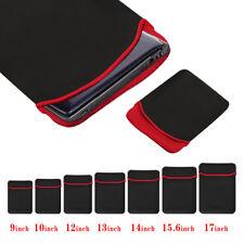 "9""-17"" Ultra Slim Laptop Bag Full Protective Shockproof iPad Macbook Sleeve Case"