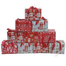 Tovaglia Natalizia Confezione Cofanetto x6 x12 180 cm 240 cm Natale Idea Regalo