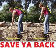BACKSAVER grip brace back pain support stretcher garden rod roll posture strap