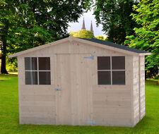 CASETTA BOX IN DI LEGNO 320x245 porta singola 20mm casette da giardino