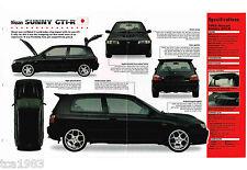 NISSAN SUNNY GTI-R IMP Brochure: 1990,1991,1992,1993,1994,1995