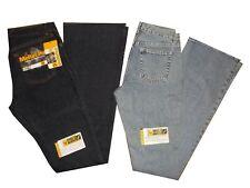 jeans zampa donna meltin pot new bell vita alta pantaloni denim bootcut stampato