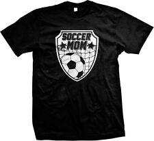 Soccer Mom Mother Parent Team Supporter Ball Goal Son Daughter Mens T-shirt