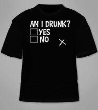 Am I Drunk T-Shirt. Funny Humor TShirt Beer Drinking Saint Patrick's Day St Tees