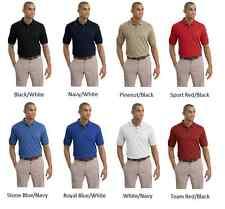 NIKE GOLF Men's Dri-FIT Pique II Tipped Sport Shirt Polo NEW