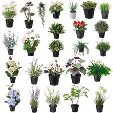 Lavendel Deko Blumen Kunstliche Pflanzen Furs Wohnzimmer