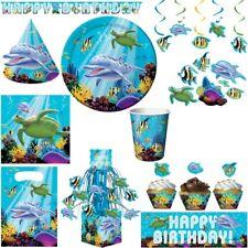 Partie sous-marine d'anniversaire d'enfants Décors tortue  dauphin anniversaire