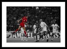 Steven Gerrard Liverpool 2005 CHAMPIONS LEAGUE FINALE SPOT COLORE FOTO (spot804)