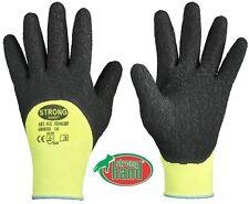 NEONGRIP von StrongHand® Arbeitshandschuh Latex Handschuh Garten Gerüstbau