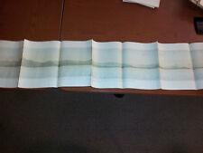 Large beautiful 1904 Lithograph of Atlantic Coast Rio Mangle - Rio Mandiga Gulf
