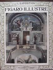 LE FIGARO ILLUSTRE L'EXPOSITION 1900 N 127