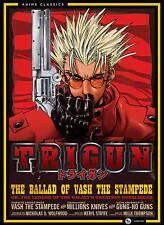 TRIGUN: The Complete Series (DVD, 2013, 4-Disc Set)
