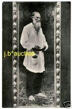 Lew Lev Tolstoj Russian author/scrittore * VINTAGE 1910s PC