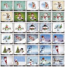 Snowman Curtains 2 Panel Set Decor 5 Sizes Available Window Drapes
