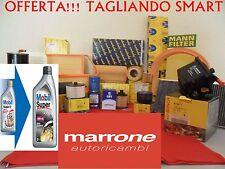 Kit tagliando filtri +olio motore MOBIL SMART 451 FORTWO COUP CABRIO 800 CDi 07>