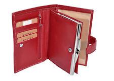 KATANA Porte monnaie porte feuile à fermoir en cuir réf 553010 (3 coul.disponibl