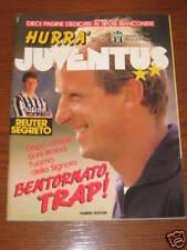 HURRA' JUVENTUS 1991/7-8 TRAPATTONI ROBY BAGGIO CABRINI