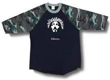 New Printed JESUS FACE CHRISTIAN 3/4 Sleeve BaseBall T-Shirts Raglan Jersey Tee