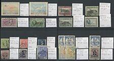 La Grecia 1886-1935 gamma MINT + fu su stockcards... 21 FRANCOBOLLI CV £ 80 +