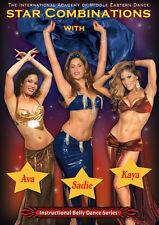 Stars Belly Dance Combinations DVD with Sadie, Kaya & Ava