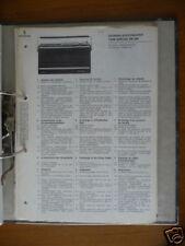 Service Manual Siemens RK 350 Radio,ORIGINAL