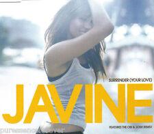 JAVINE - Surrender (Your Love) (UK 2 Tk CD Single Pt 1)