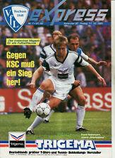 BL 91/92 VfL Bochum - Karlsruher SC