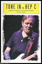 Allman Brothers & Guests Dead Lesh Crosby Nash Hep C Benefit Concert Program