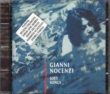 "GIANNI NOCENZI ( BANCO ) - RARO CD FUORI CATALOGO "" SOFT SONGS "" SAKAMOTO PARODI"