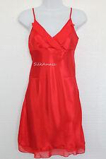 Womens Sexy Silk Satin Pajamas Nightwear Nightdress Nightskirt Lingerie