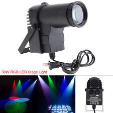 RGBW LED Beam Spotlight Party Dance DJ Bar Spin Stage Lighting Pinspot Lights