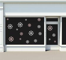 Wandaufkleber Weihnachtsaufkleber Schneeflocken Schneeflöckchen Fensteraufkleber