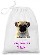 Personalised Children's PUG/PUPPY Asthma Inhaler/Epi Pen/Medicine Bag