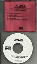 JEWEL Joy A Holiday Collection 5 Song Sampler RARE TST PRESS ADVNCE PROMO DJ CD