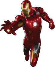 Sticker enfant Iron Man réf 3105 ( Dimensions de 10 cm à 130cm de hauteur)