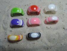 Acryl Ringe Regenbogen verschiedene Größen