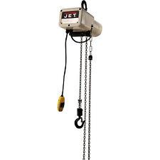 JET Electric Chain Hoist-1/8-Ton Cap., 10ft. Lift, 1-Phase, Model JSH-275-10