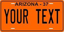 Arizona 1937 License Plate Personalized Custom Auto Bike Motorcycle Moped tag