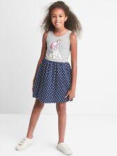 GAP Kids Disney Girls 101 Dalmatians Mix-fabric Dress XS M XL 4 5 8 12 NWT $45