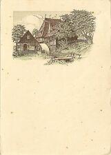 CARTE POSTALE GRAND FORMAT ALLEMAGNE BENNECKENSTEIN 1948
